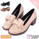 紳士鞋-TTSNAP可愛雙層蝴蝶結中跟鞋...
