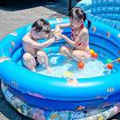 【三層游戲水池】(大) 兒童冰涼水池 游...