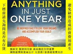 二手書博民逛書店Achieve罕見Anything In Just One YearY256260 Jason Harvey