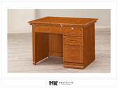 【MK億騰傢俱】ES612-04蘇格蘭檜木實木3.4尺書桌
