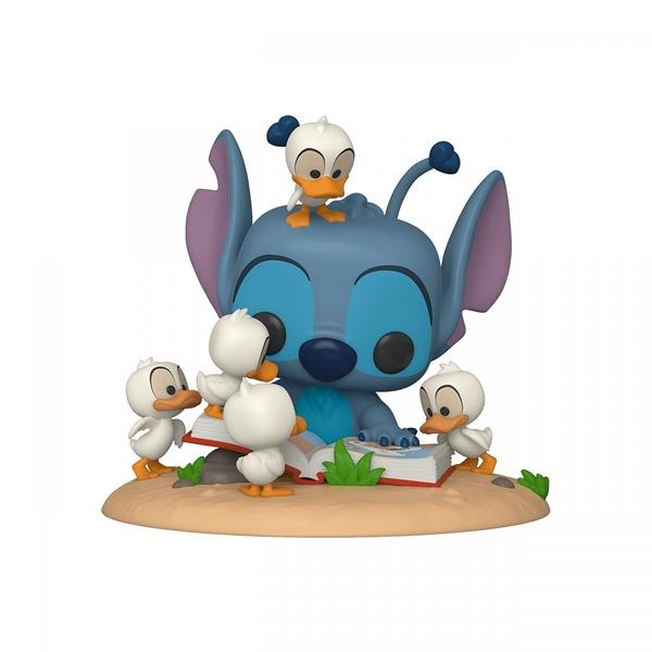 【 Funko 】 POP 迪士尼 豪華版 史迪奇 w/書&鴨 / JOYBUS玩具百貨