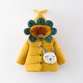 女寶寶棉襖冬裝兒童0-4歲女童羽絨棉服加厚保暖小童棉身嬰兒外套