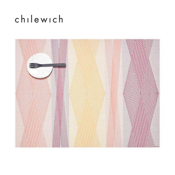 美 Chilewich-Kimono Rectangle 日式和風系列餐墊-36X48CM-繽紛菱格