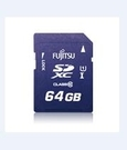 Fujitsu 相機記憶卡 SDXC-64GBD 大容量高效能