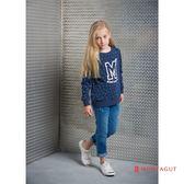 童裝女童圓領T恤 夢特嬌 藍色點點款 90-110cm