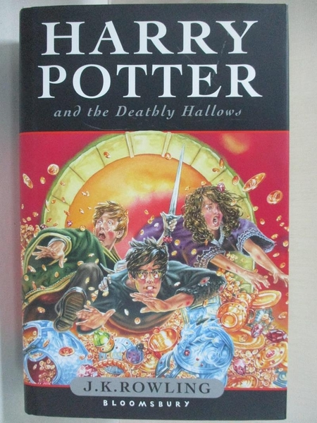 【書寶二手書T1/一般小說_BEG】Harry Potter and the Deathly Hallows_J.K.Rowling