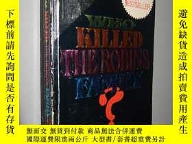 二手書博民逛書店Who罕見Killed the Robins Family? b