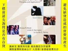 二手書博民逛書店Cost罕見Accounting: Principles And ApplicationsY307751 Ho