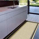 范登伯格 爵士★單色系亞麻地毯-點點60x110cm