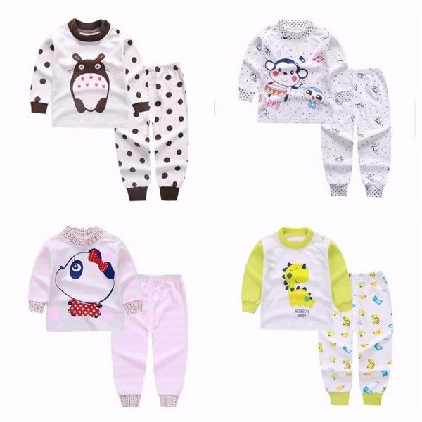 長袖套裝 棉質嬰兒內衣套裝 家居休閒套裝  童裝 HY10606 好娃娃