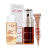 CLARINS 克蘭詩 黃金雙激萃+V型精萃+潔顏水極緻修護組