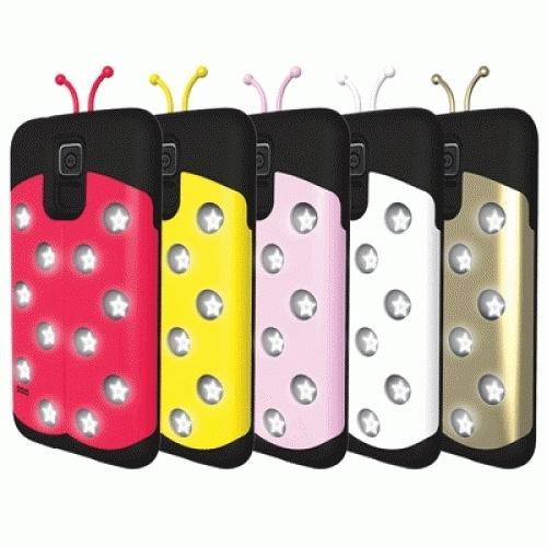 特價商品│ 來電閃光燈提示 Van.D 星光小瓢蟲 手機殼 保護殼│iPhone5/5S S5│c4516