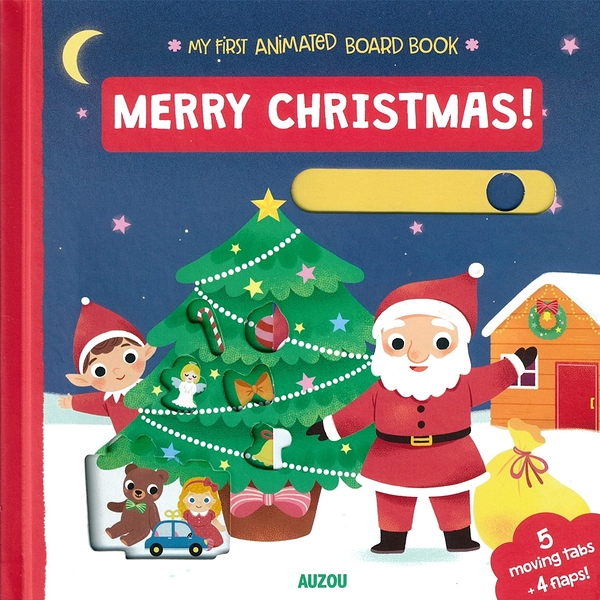 My First Animated Board Book:Merry Christmas 我的第一本推拉小書:聖誕快樂