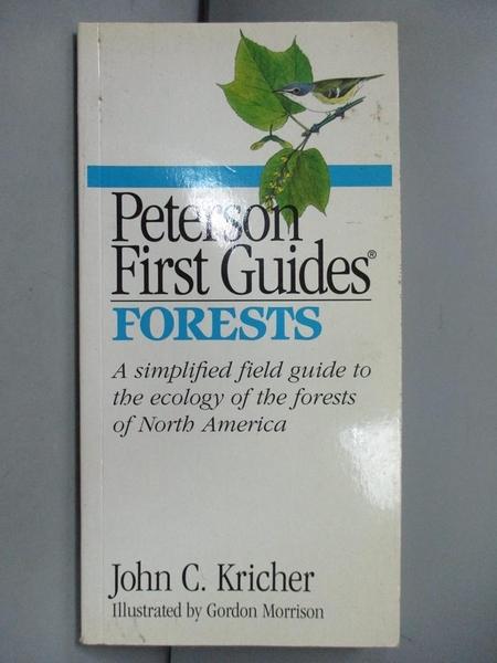 【書寶二手書T1/旅遊_NJK】Peterson First Guide(R) to Forests_John C. Kricher