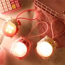 小夜燈 少女心流沙小夜燈夢幻男女生兒童學生USB充電隨身宿舍手提照明燈  快速出貨