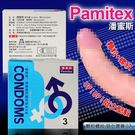 (持久款)潘蜜斯恩愛保險套3入-內含麻醉劑 queen時尚精品 衛生套 避孕套 男性穿戴
