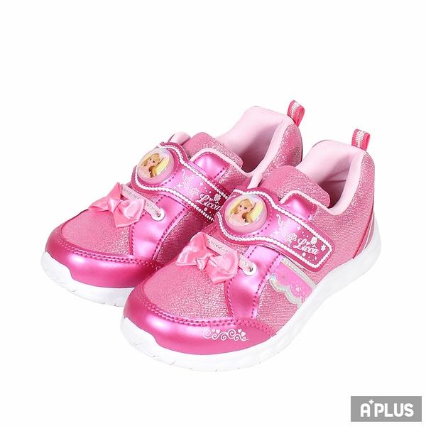 K-SHOES 童鞋 LICCA電燈鞋桃粉-X00213