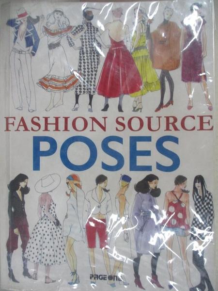 【書寶二手書T3/設計_IFA】Fashion Source: Poses_Not Available (NA)