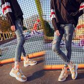 運動鞋女 運動鞋女韓版ulzzang原宿百搭單鞋時尚女鞋2018季新款老爹鞋子 米蘭街頭