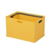 日本Sanka squ+提把收納盒L-黃