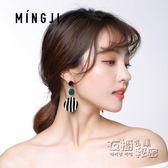 925銀針歐美復古夸張耳墜耳環女韓國氣質女長款耳釘潮個性耳飾品   衣櫥の秘密