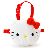 Hello Kitty背袋 寵物專用立體白色背袋(袋繩可調整)/袋子 [喜愛屋]