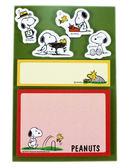 【卡漫城】 Snoopy 便利貼 ㊣版 日本製 Memo N次貼 史奴比 史努比 隨意貼 便條紙 Peanuts