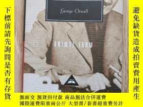 二手書博民逛書店Animal罕見Farm 動物農場 動物莊園 George Orwell 喬治·奧威爾 everymans lib