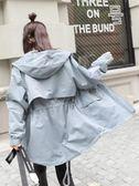 胖妹妹秋裝外套女新款韓版大碼胖mm寬鬆200斤學生減齡小個子風衣