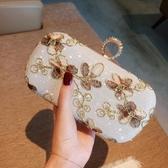 名媛旗袍包包復古花朵晚宴包迷你手拿包手抓包閃鉆禮服包小包