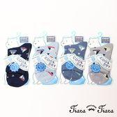 【Tiara Tiara】童趣帆船短襪涼感襪(極深藍/淺藍/藍/灰)