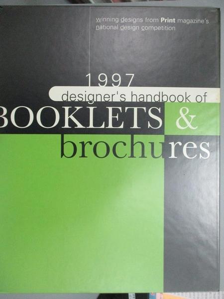 【書寶二手書T7/設計_XED】Designer s Handbook of Booklets & Brochu
