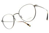 OLIVER PEOPLES 光學眼鏡 WATTS 5124 (銅) 金屬細框復古圓框款 平光鏡框# 金橘眼鏡