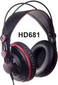 ☆唐尼樂器︵☆ Superlux HD681 HD681B HD681F 封閉式 耳罩式 舞台 錄音室 監聽耳機