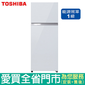 TOSHIBA東芝409L雙門變頻冰箱GR-AG461TDZ(ZW)含配送到府+標準安裝【愛買】