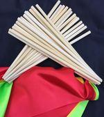 舞蹈筷子 蒙古筷 演出道具 長筷 蒙古舞筷子喜慶用-白色(24釐米長2把)─預購CH5997
