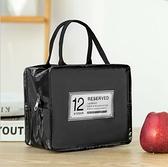 保溫袋 手提便當包大小號防水上班帶飯加厚鋁箔保溫午餐包學生手拎飯盒袋-Ballet朵朵