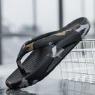 拖鞋男款2021夏季新款時尚室外韓版潮流踩屎感椰子拖鞋防滑人字拖 設計師