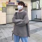 FINDSENSE品牌 秋鼕 款 新款 韓國 男 純色 高品質 舒適毛衣 大碼