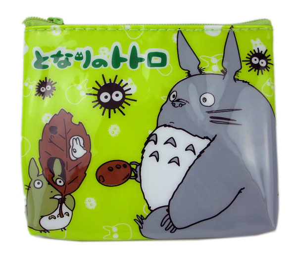 【卡漫城】 龍貓 PVC 零錢包 拉鍊式 雙面圖 豆豆龍 Totoro 票卡包 卡片包 小物 收納包 鑰匙包