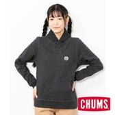 CHUMS 日本 女 Hurricane 翻領套頭衫 黑 CH101144K006