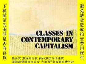 二手書博民逛書店Classes罕見In Contemporary CapitalismY256260 Nicos Poulan