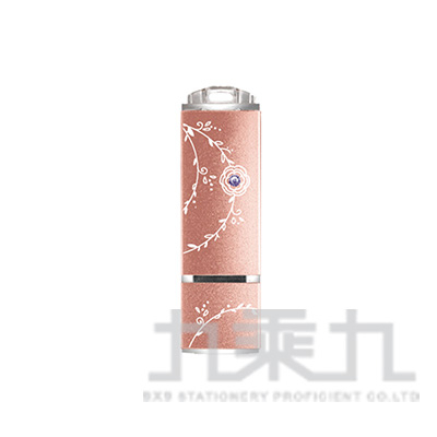 TCELL冠元USB3.0 128GB絢麗水鑽隨身碟(玫瑰粉)