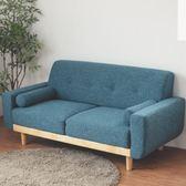雙人沙發 沙發 椅子 和室椅【Y0010】Vega 雷思麗北歐木作2.5人座沙發(靛藍)  收納專科