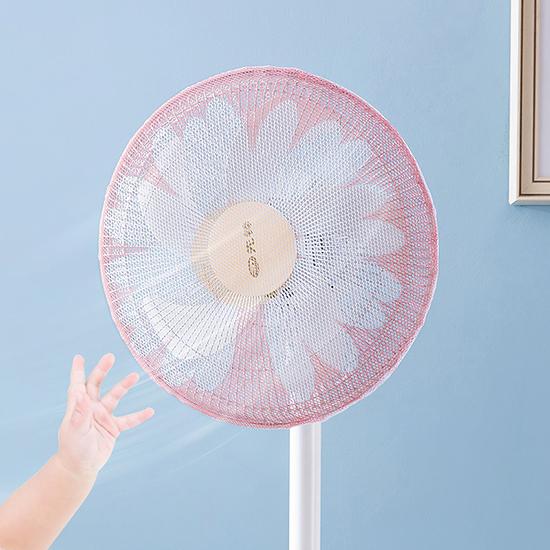 洗衣網袋 電風扇罩 束口袋 風扇保護罩 風扇防護罩 防夾手 束口式風扇罩【Z019】慢思行