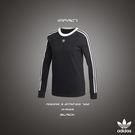 IMPACT Adidas 3 Stripes Tee 大學T 衛衣 三葉草 三線 黑 范冰冰 楊幂 著 DH3183