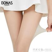 絲襪女超薄款防勾絲連褲襪夏天透明隱形光腿神器黑肉色長筒 怦然心動
