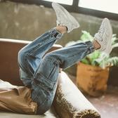兒童褲 男童牛仔褲兒童工裝褲新款中大童褲子長褲12歲15男孩韓版潮流 【免運】