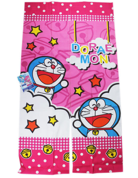 【卡漫城】Doraemon 門簾 (星星版) ㊣版 小叮噹 哆啦A夢 多啦 A夢 窗簾 ~ 85 x 150cm
