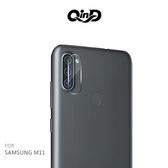 QinD SAMSUNG Galaxy M11 鏡頭玻璃貼(兩片裝) 9H硬度 奈米吸附 鏡頭貼 鏡頭保護貼